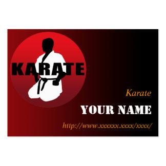 KARATE 01 BUSINESS CARD TEMPLATES