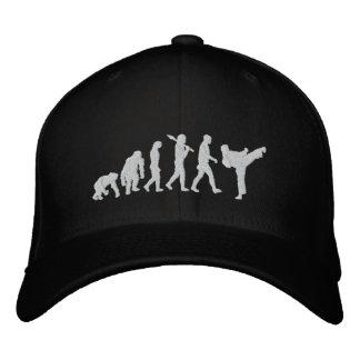 karate black belt martial arts martial artist fans embroidered hat