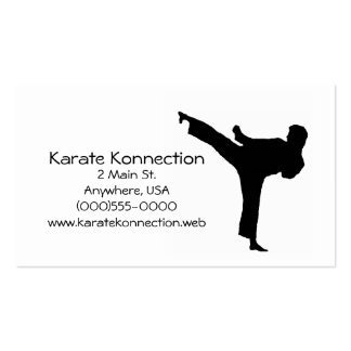 Karate Business Cards