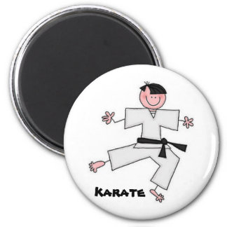 Karate Cartoon Magnet