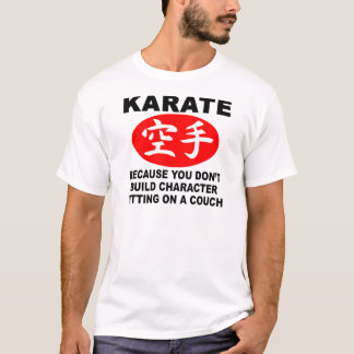 Karate Character T-Shirt