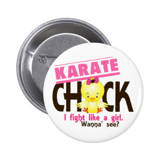 Karate Chick 1 6 Cm Round Badge