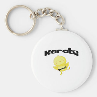 Karate chick key ring