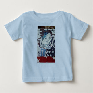 Karate chop shark baby T-Shirt