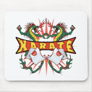 Karate Dragons Mouse Pads