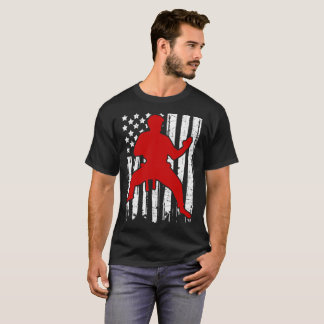 KARATE FLAG AMERICAN T-Shirt