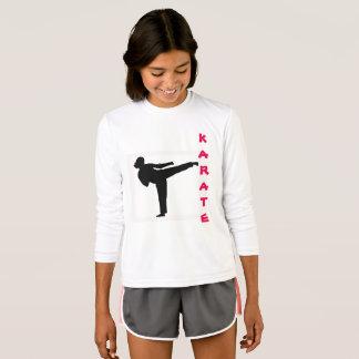 Karate Girl Long Sleeve Shirt