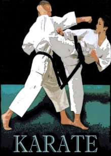 Karate birthday cards zazzle karate greeting card m4hsunfo