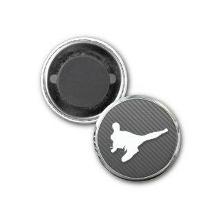 Karate Icon 3 Cm Round Magnet