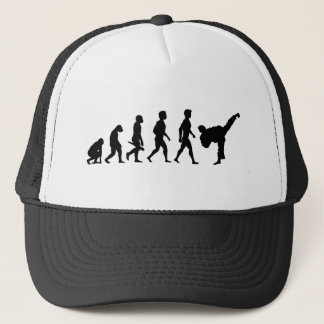Karate Judo Kungfu Kickboxen Aikido martial one Trucker Hat