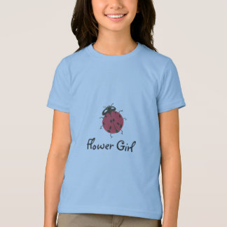 Karate Kat flower girl top--to personalize T-Shirt