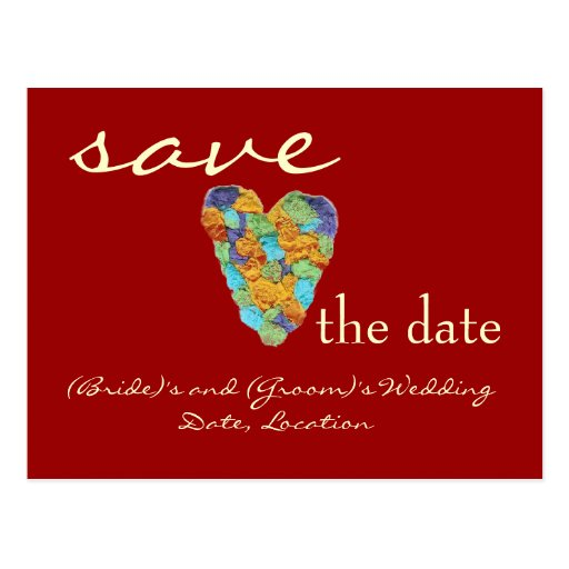 Karate Kat save-date card--to personalize Post Cards