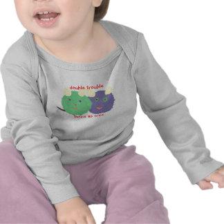 Karate Kat twin baby Tshirt