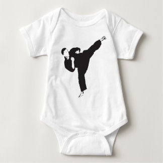 Karate Kick Baby Bodysuit