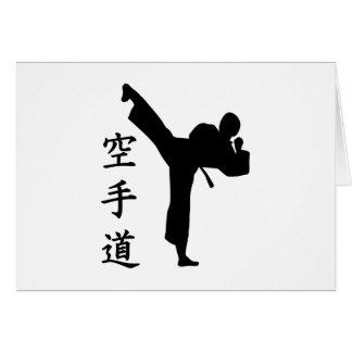 Karate Kung Fu Card