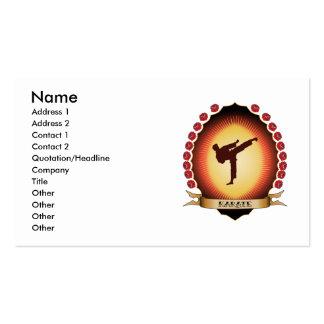 Karate Mandorla Business Card