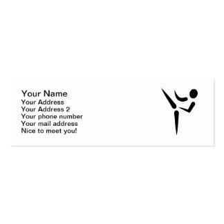 Karate Martial Arts logo Business Card Templates