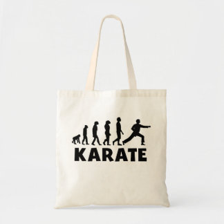 Karate Punch Evolution Tote Bags