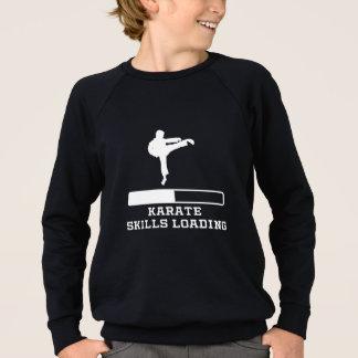 Karate Skills Loading Sweatshirt