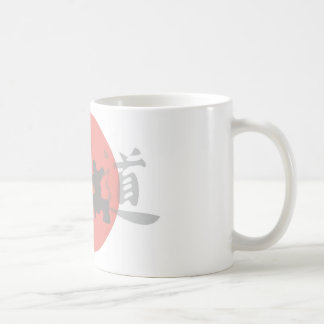 Karate Sun Coffee Mug