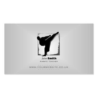 Karate Teacher Business Card