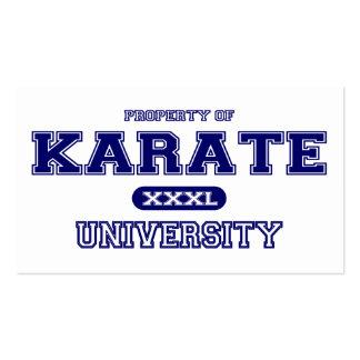 Karate University Pack Of Standard Business Cards