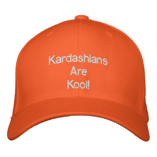 KARDASHIANS- Kardashians Are Kool HATS Embroidered Baseball Cap