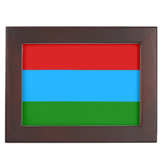 Karelia Flag Keepsake Box