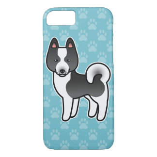 Karelian Bear Dog Cartoon iPhone 8/7 Case