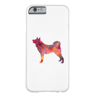 Karelian Bear Dog in watercolor Barely There iPhone 6 Case