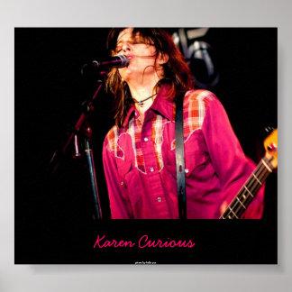 Karen Curious Poster