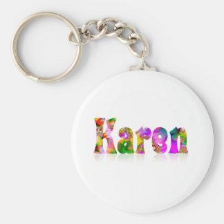 Karen Key Ring