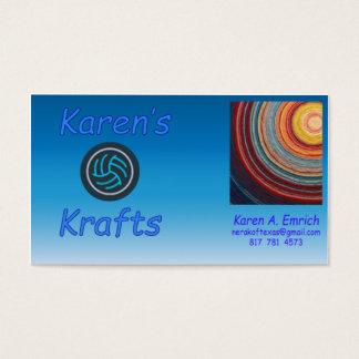 Karen's Krafts Business Cards - Regular