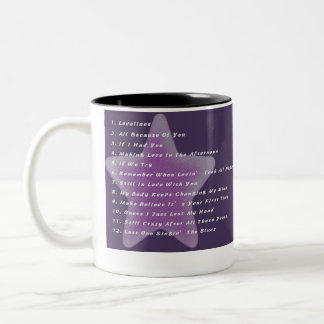 Karen's Solo Album is Great! (Mug) Two-Tone Coffee Mug