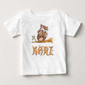 Kari Owl Baby T-Shirt