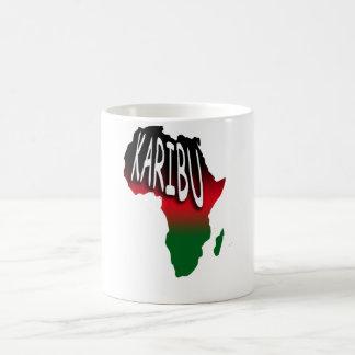 Karibu - Welcome - Swahili Coffee Mug