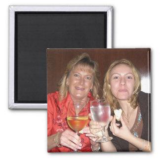 Karie&Grams at Ruth's CHris Square Magnet