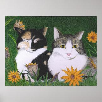 Kari's Cats Poster