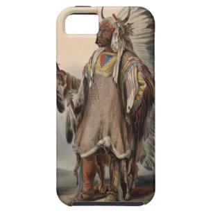 Karl Bodmer - A Mandan chief Tough iPhone 5 Case