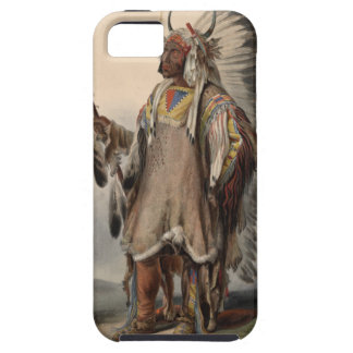 Karl Bodmer - A Mandan chief Tough iPhone 5 Case