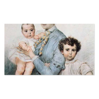 Karl Bryullov- Portrait of Teresa Tittoni & Sons Pack Of Standard Business Cards