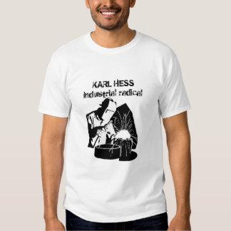 Karl Hess - Industrial Radical Tshirts
