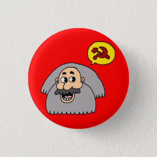 Karl Marx 3 Cm Round Badge