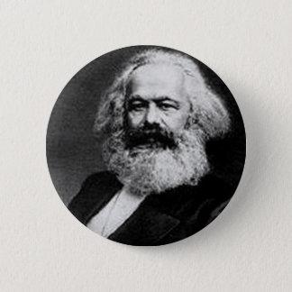 Karl Marx 6 Cm Round Badge