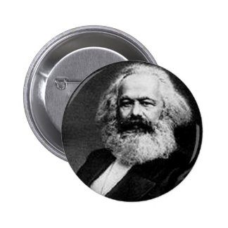 Karl Marx 6 Cm Round Badge