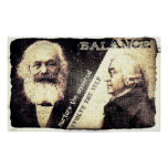 Karl Marx and Adam Smith, the zen of .. (old rip) Print