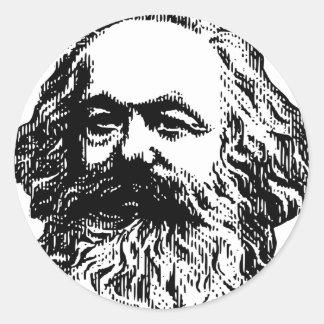 Karl Marx - Communism Classic Round Sticker