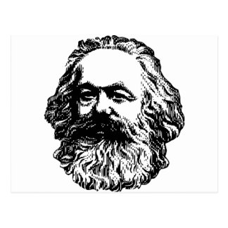 Karl Marx - Communism Postcard