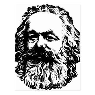 Karl Marx - Communism Postcard