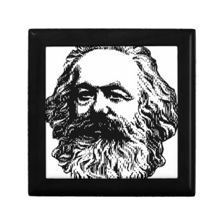 Karl Marx - Communism Small Square Gift Box